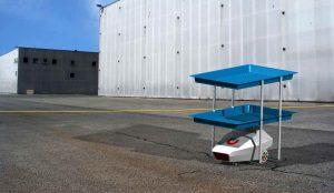 Xe tự hành agv perbot Uniduc nghiên cứu sản xuất