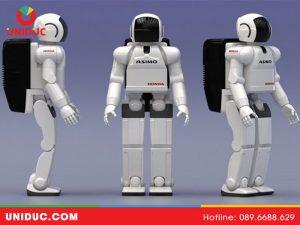 hình dáng Robot asimo